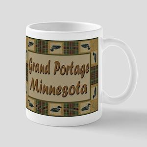 Grand Portage Minnesota Loon Mug