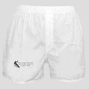 Don't argue with god Boxer Shorts