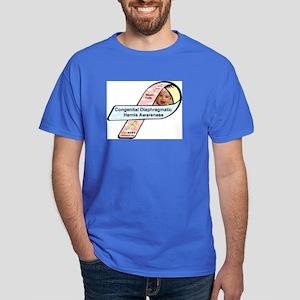 Nayeli Faith CDH Awareness Ribbon Dark T-Shirt