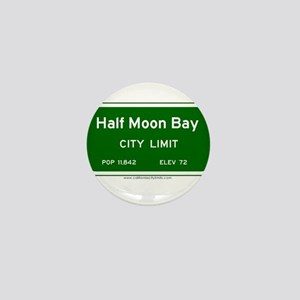 Half Moon Bay Mini Button