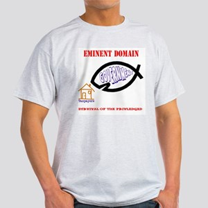 Eminent Domain: Evolution Ash Grey T-Shirt