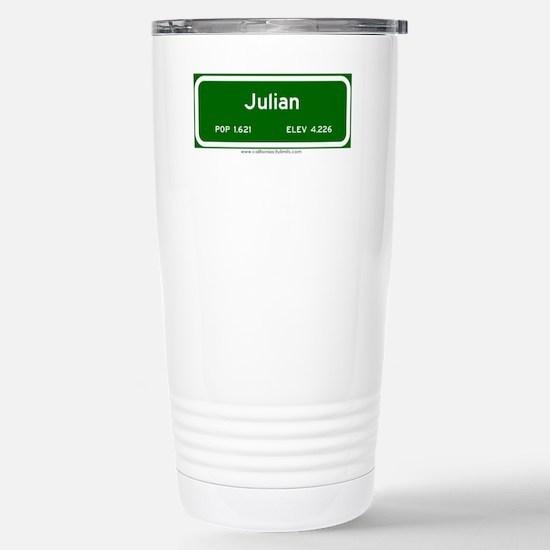 Julian Stainless Steel Travel Mug