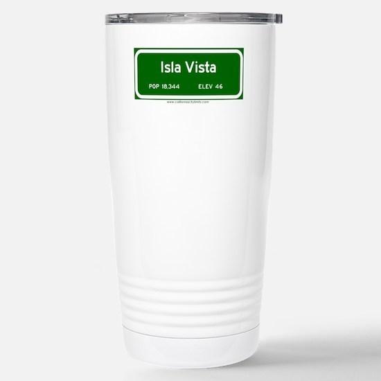 Isla Vista Stainless Steel Travel Mug