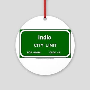 Indio Ornament (Round)