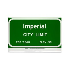 Imperial Rectangle Magnet (10 pack)