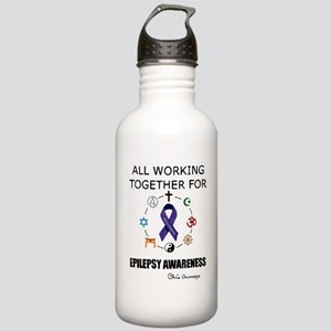 WORKING TOGETHER Stainless Water Bottle 1.0L
