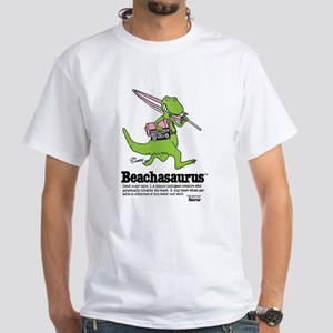 Beachasaurus White T-Shirt