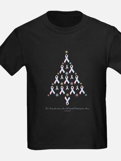CDH Awareness Ribbon Christmas Tree T
