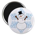CDH Awareness Ribbon Snowman 2.25