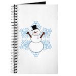 CDH Awareness Ribbon Snowman Journal