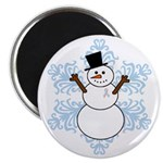CDH Awareness Ribbon Snowman Magnet