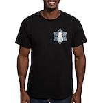 CDH Awareness Ribbon Snowman Men's Fitted T-Shirt