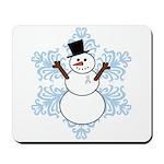 CDH Awareness Ribbon Snowman Mousepad