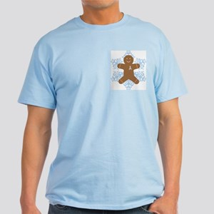 CDH Awareness Ribbon Gingerbread Man Light T-Shirt