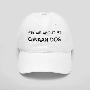 Ask me: Canaan Dog Cap