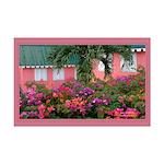 St.Lucia Print -11x17 Bougainvillaea