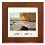 Cap Estate St. Lucia Framed Tile