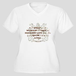 Muscles & Life Women's Plus Size V-Neck T-Shirt