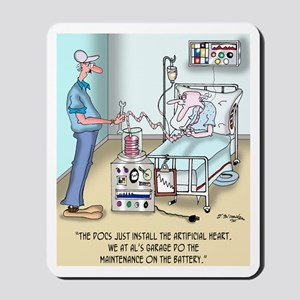 The Docs Just Install the Heart Mousepad