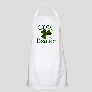 Craic Dealer (Craic is fun in Gaelic) Apron
