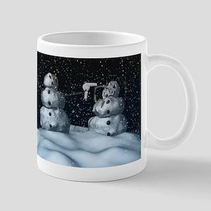 Mean Snowman Mug