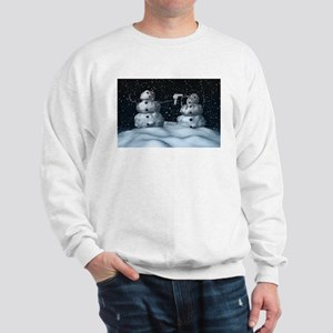 Mean Snowman Sweatshirt