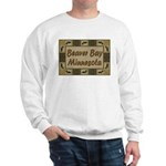 Beaver Bay Minnesota Loon Sweatshirt