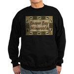 Beaver Bay Minnesota Loon Sweatshirt (dark)