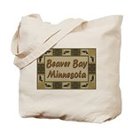 Beaver Bay Minnesota Loon Tote Bag