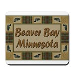 Beaver Bay Minnesota Loon Mousepad