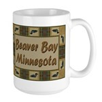 Beaver Bay Minnesota Loon Large Mug