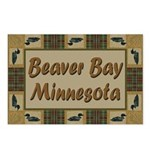 Beaver Bay Minnesota Loon Postcards (Package of 8)