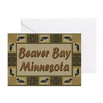 Beaver Bay Minnesota Loon Greeting Cards (Pk of 10