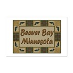 Beaver Bay Minnesota Loon Mini Poster Print