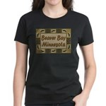 Beaver Bay Minnesota Loon Women's Dark T-Shirt