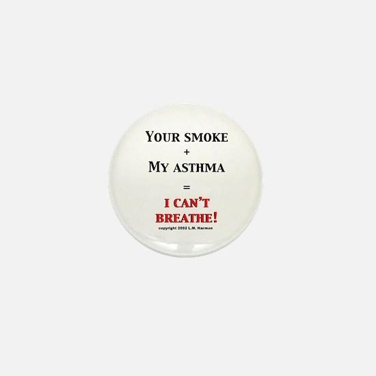 Funny Allergy awareness Mini Button
