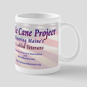 Maine Eagle Cane Mug