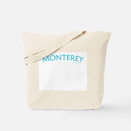 Monterey (Aqua) - Tote Bag