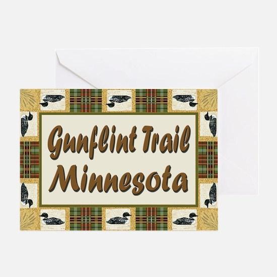 Gunflint Trail Minnesota Loon Greeting Card