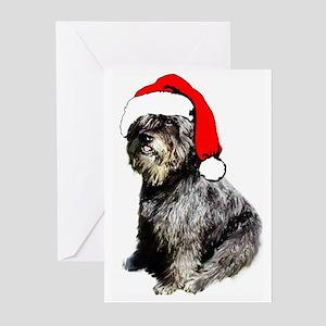 Bouvier des Flandres Christma Greeting Cards (Pack