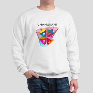 Chanukah Spinning Dreidles Sweatshirt