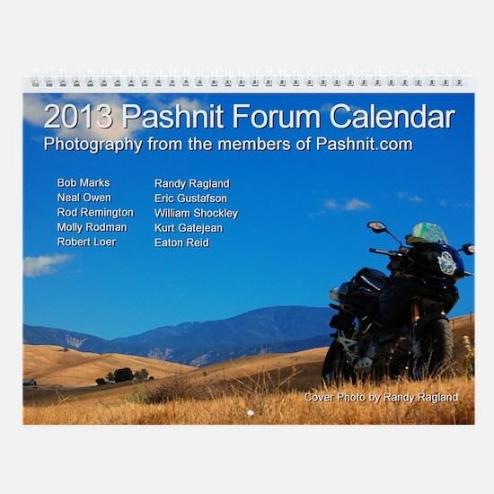 Pashnit Forum Calendar - IV (Medium)