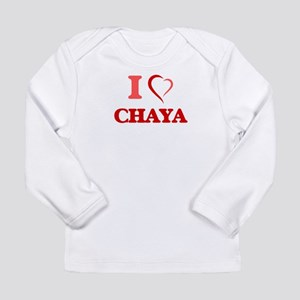 I Love Chaya Long Sleeve T-Shirt