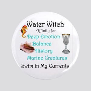 "Water Witch 3.5"" Button"