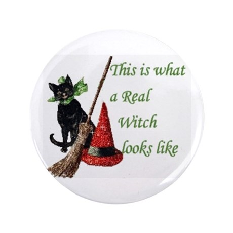 "Witches Pride 3.5"" Button"