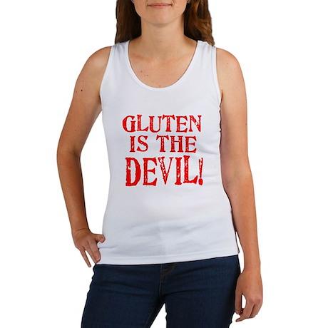 Gluten Is The Devil Women's Tank Top