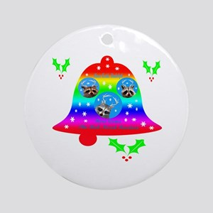 Raccoon Ornament (Round)