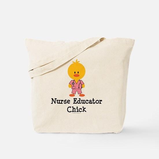 Nurse Educator Chick Tote Bag