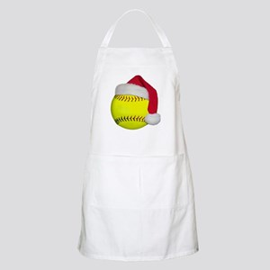 Softball Santa Apron