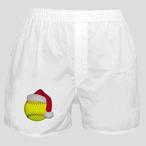 Softball Santa Boxer Shorts